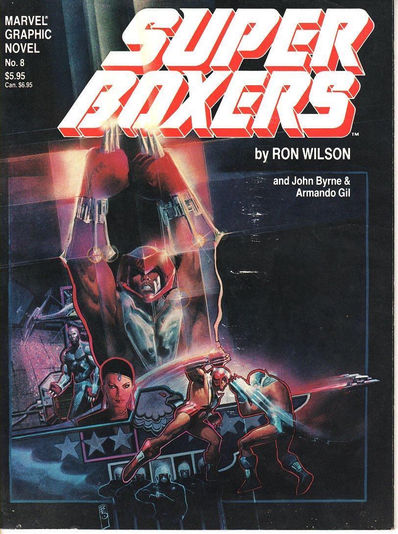 super-boxers--marvel-graphic-novel-: Amazon.es: ron-wilson ...