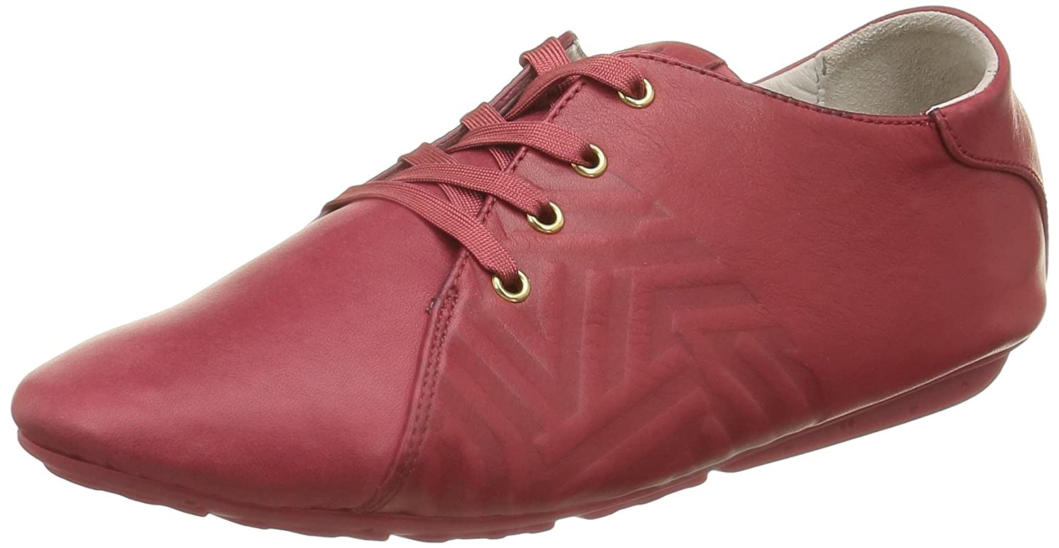 TBS Technisynthese Charlyn - Zapatos Mujer, Rojo, 37