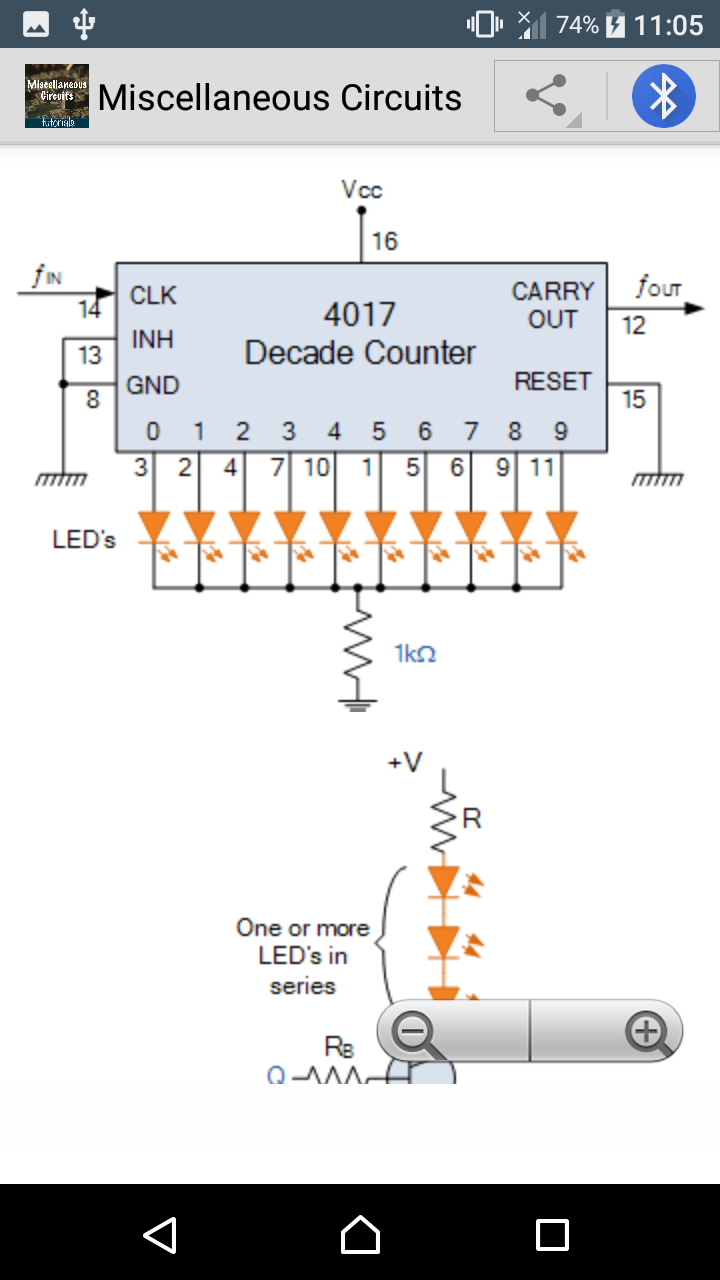 Christmas Lights Sequencer Circuit With 4017 Decade Counter Learn Miscellaneous Circuits Ebook Appstore For Android 000