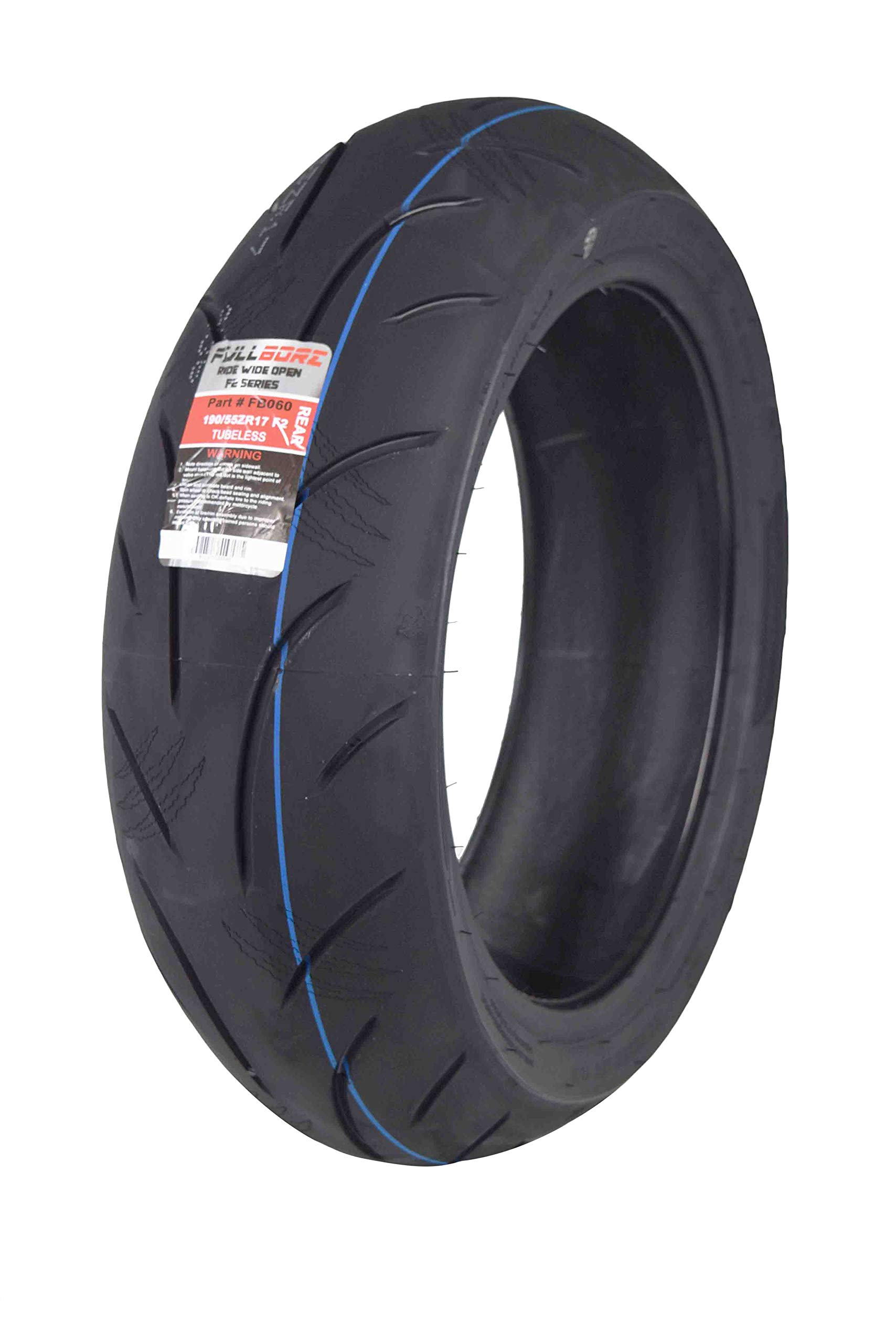 Full Bore F2 Sport Bike Radial Motorcycle Tire (190/55R17)