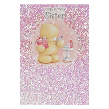 Hallmark Forever Friends Birthday Card For Sister Presents And