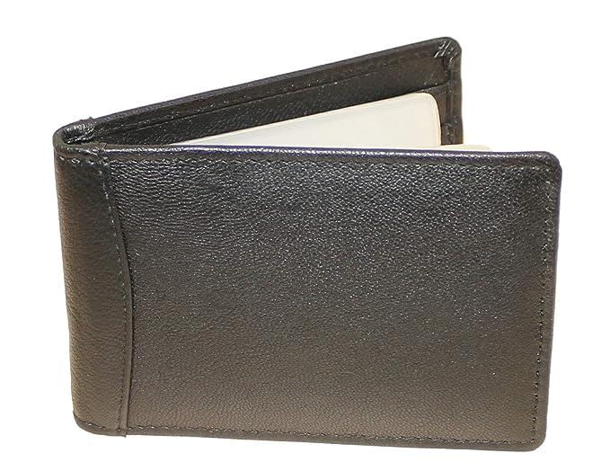 Unisex Genuine Super Soft Coloured Leather Credit Card Holder Wallet Purse