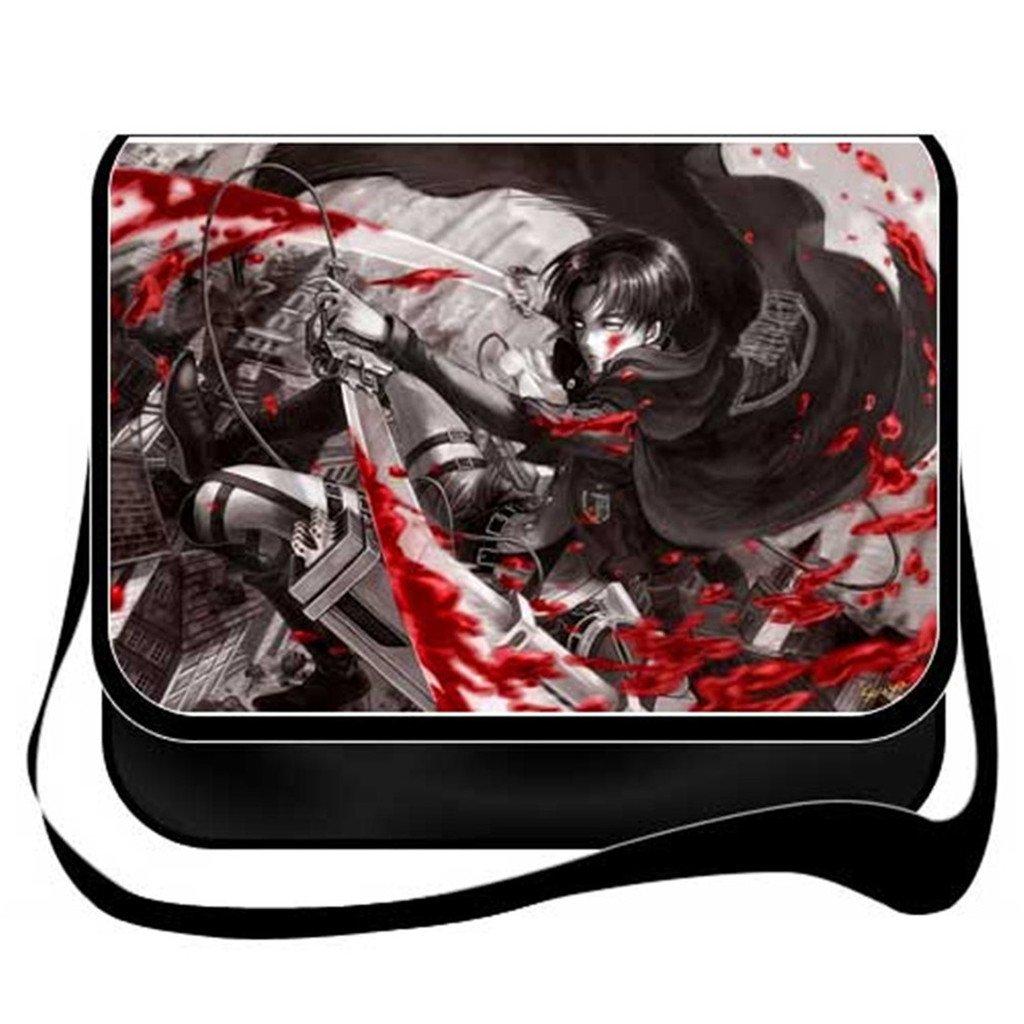 YOYOSHome Anime Attack on Titan Cosplay Messenger Bag Shoulder Bag Crossbody Backpack School Bag