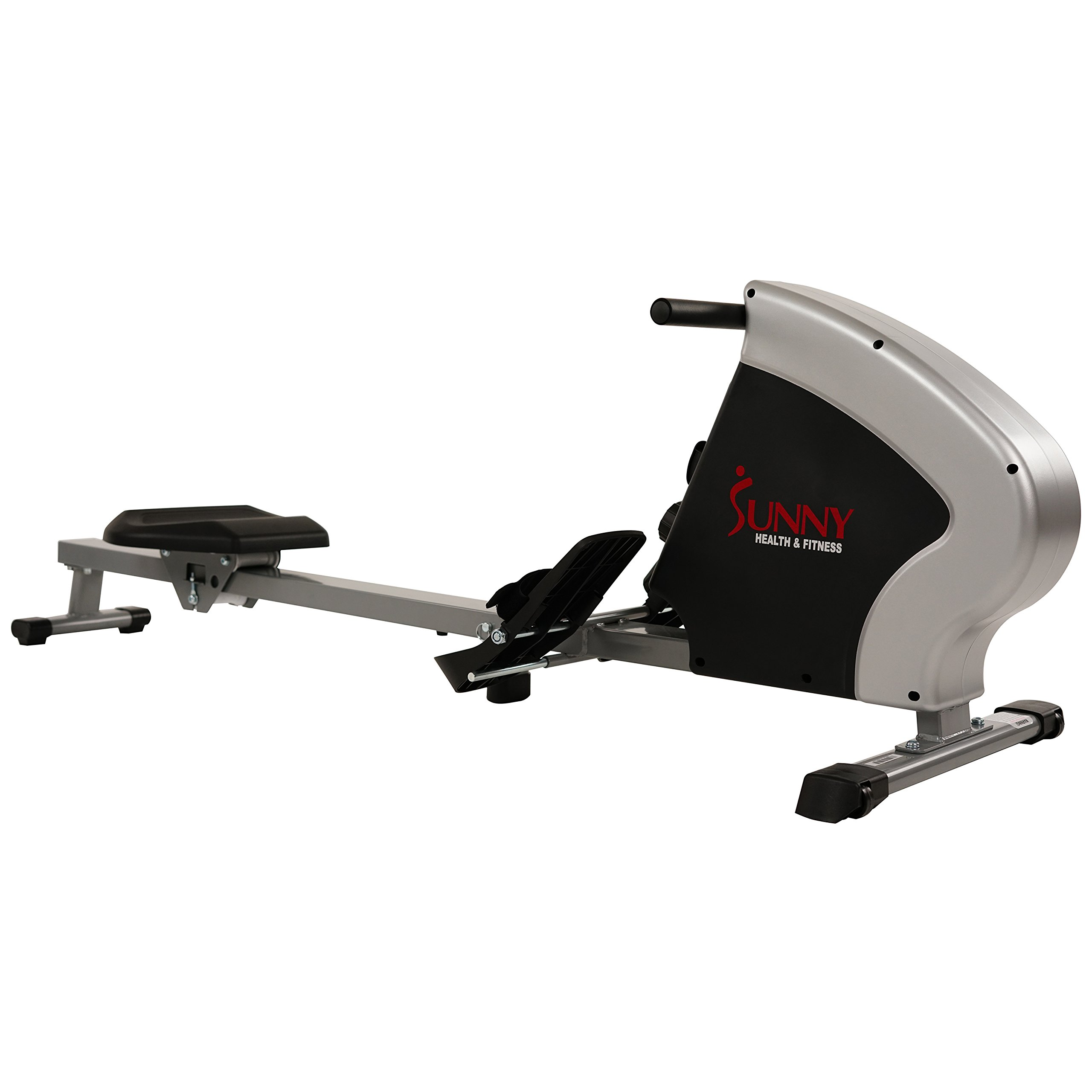 Sunny Health & Fitness Compact Folding Magnetic Rowing Machine Rower, LCD Monitor with Tablet Holder - Synergy Power Motion - SF-RW5801 by Sunny Health & Fitness (Image #11)