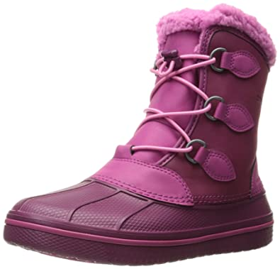 a1f55bffdd6e crocs AllCast II Pull-On Boot (Toddler Little Kid Big Kid)