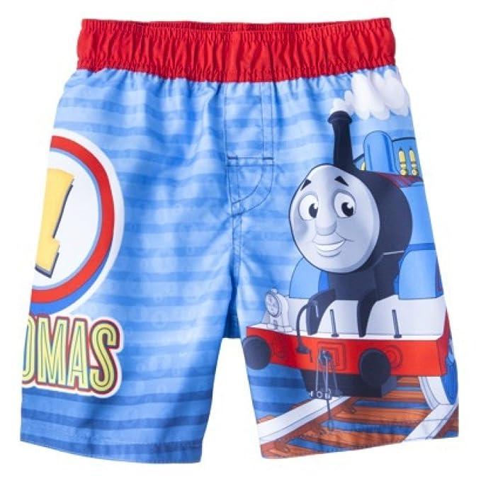 BRAND NEW W TAGS Toddler Boys Thomas /& Friends Swim Trunks Size 3T