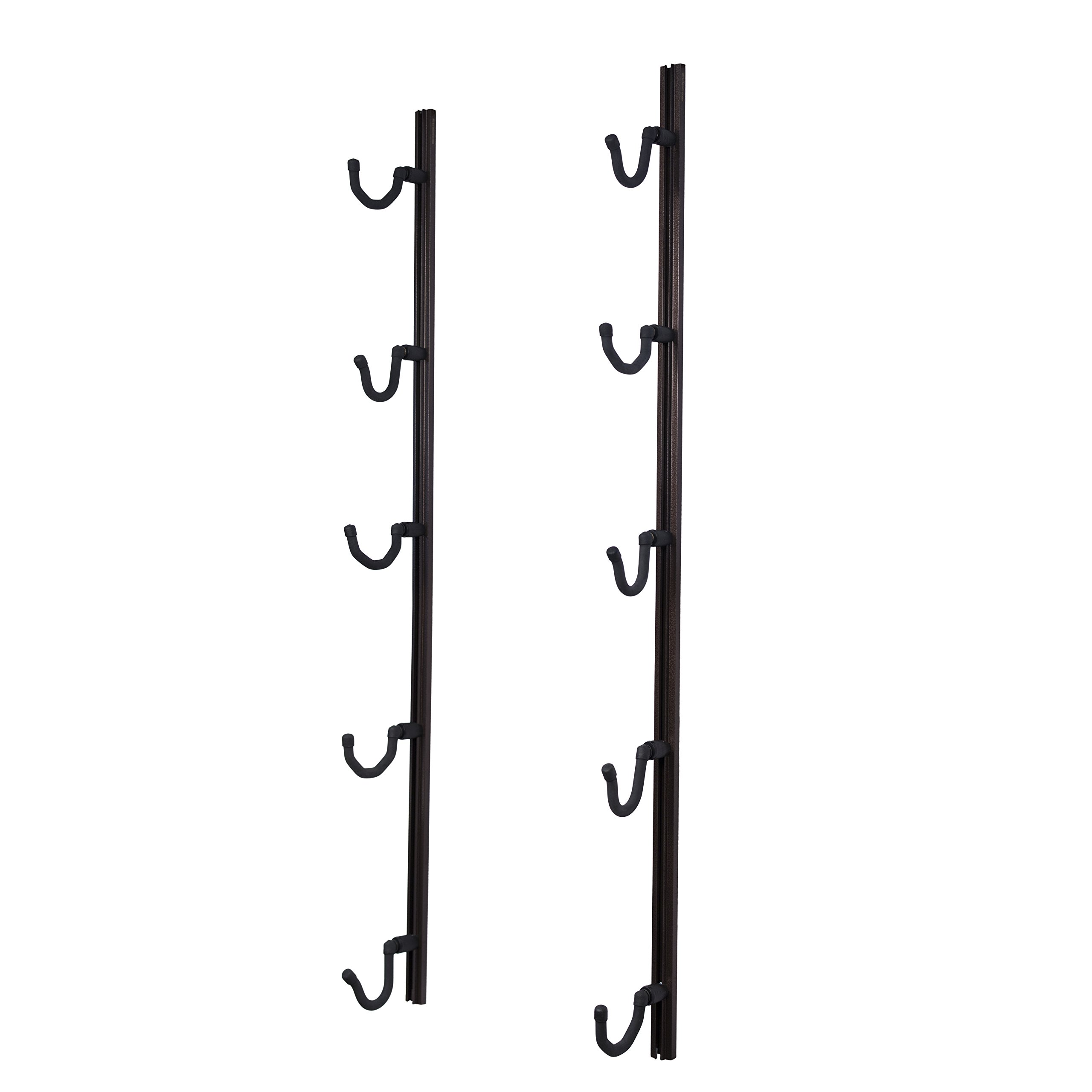 Hold Up Displays USA Made Gun Rack Rifle Shotgun Hanger and Fishing Rod Pole Rack - Copper Vein by Hold Up Displays