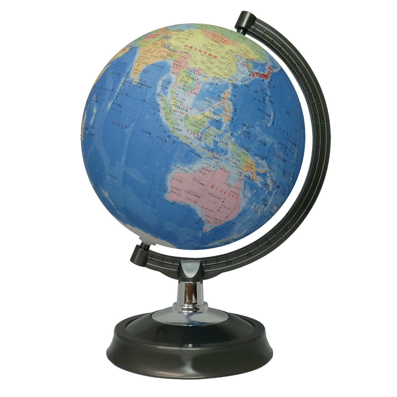 26cm globe map of Japan with (japan import) Showa carton 26-GF reikos_0019522742AM_0000182