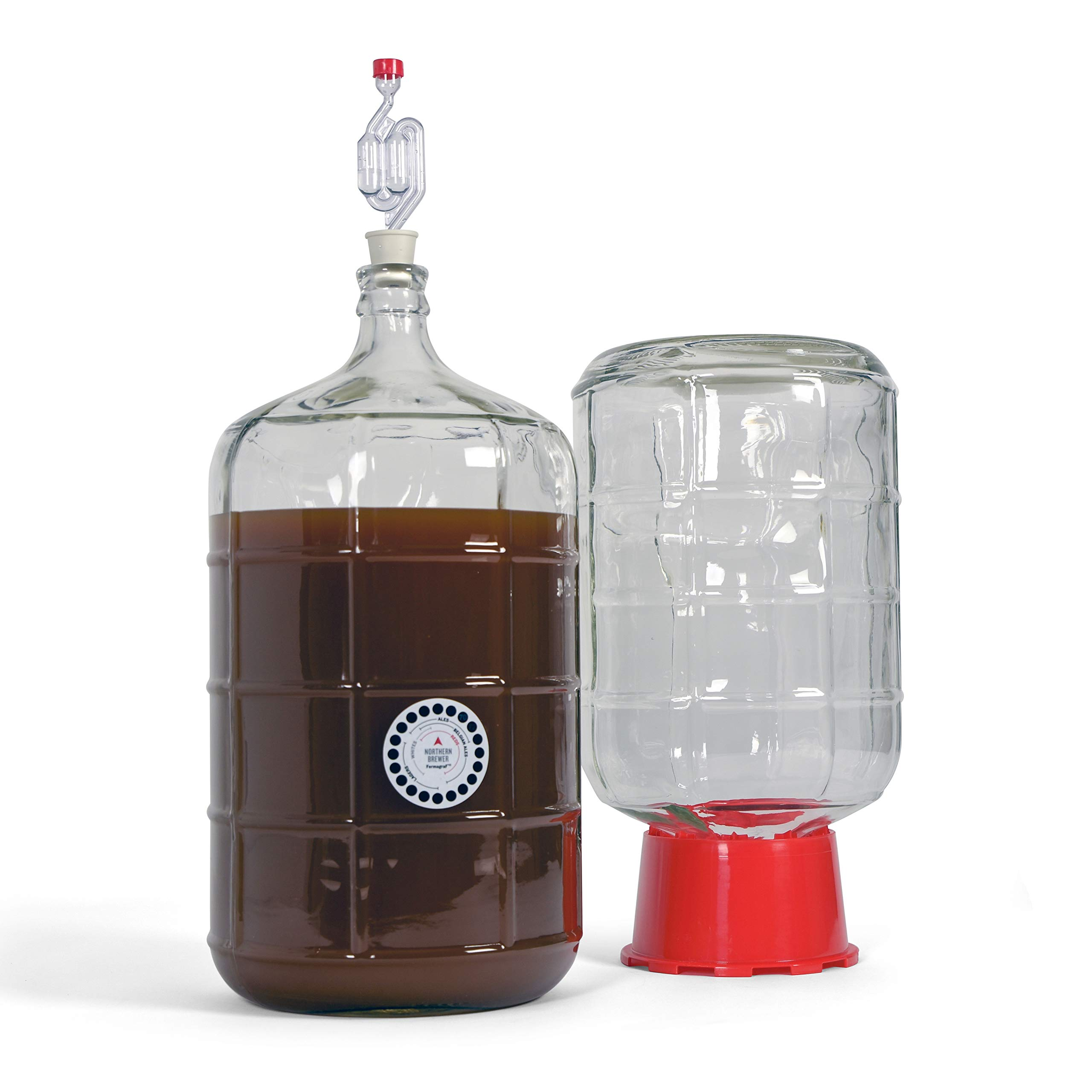 Northern Brewer Deluxe Home Brewing Equipment Starter Kit - Fresh Squished IPA Beer Recipe Kit - Glass Carboys Fermenter with Equipment For Making 5 Gallons Of Homemade Beer by Northern Brewer (Image #3)