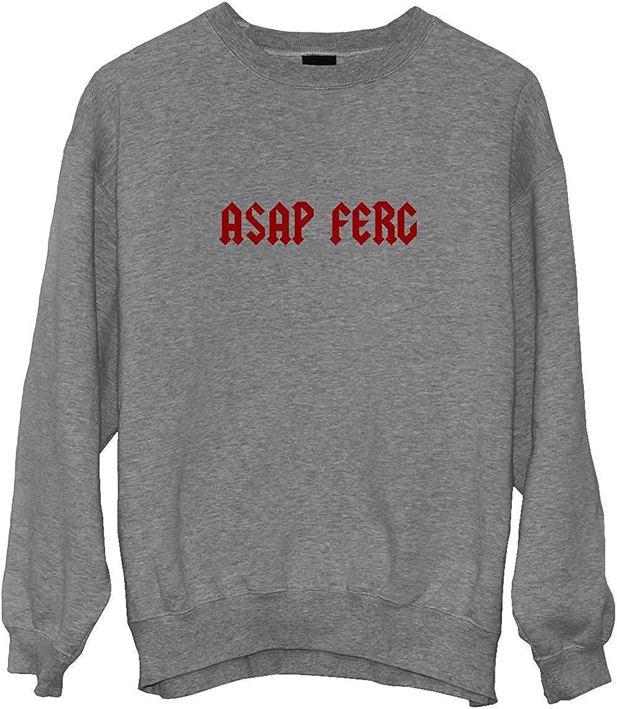 ASAP FERG Rap Music Legend Gothic Title/_MA0364 Crewneck