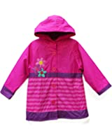 Western Chief Little Girls' Blossom Cutie Rain Coat (3T)