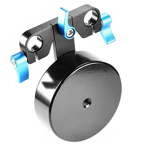 Neewer® Aluminium Alloy 2.5 lbs/1.1 kg Counter Weight for Balancing Shoulder Rig Mount Stabilizer Fits 15mm Rods