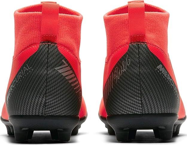Botas de fútbol NIKE JR Superfly 6 Club CR7 FG MG Junior (AJ3115 600)   Amazon.es  Zapatos y complementos d1e72a048612c