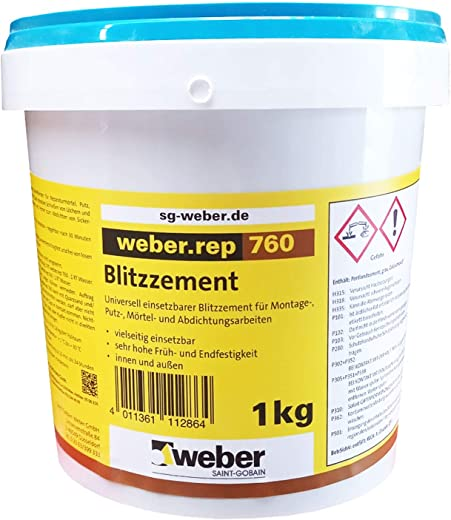 weber.rep 760 – Blitzzement