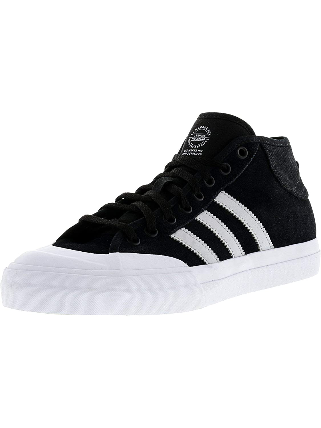 purchase cheap 59ad3 e8201 Amazon.com  Adidas Mens Matchcourt Mid Adv  Fashion Sneakers