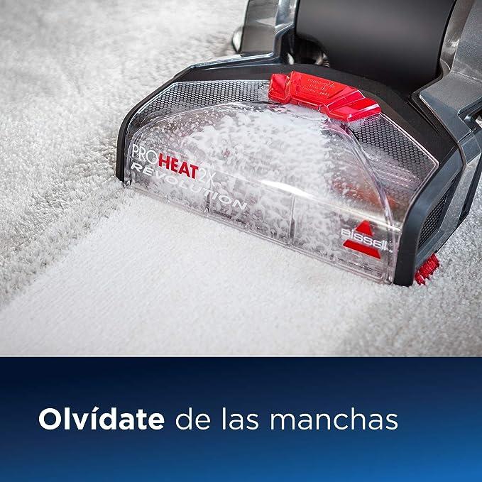 Bissell Proheat 2X Revolution Limpiador de alfombras, 800 W, 7.4 ...