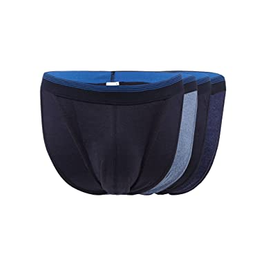 Debenhams The Collection Mens Pack of Four Blue Tanga Briefs M  The  Collection  Amazon.co.uk  Clothing 4a74d767a