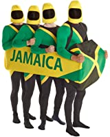 Morphsuits Men's Jamaican Bobsled Costume