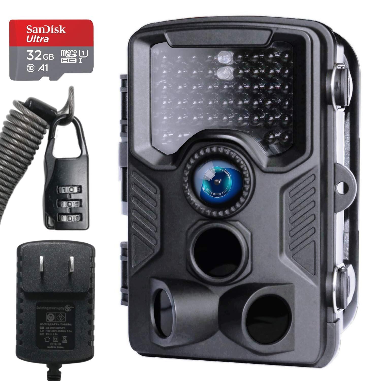 100%本物 Hanwha フルキット トレイルカメラ 人感センサー 防犯カメラ B07J2BFKDJ フルセット [第2世代] 屋外 防水 防塵 IP66対応 1080p対応 赤く光らない 不可視赤外線LED 監視カメラ 動体検知 人感センサー フルキット 夜間対応 電池式 自動上書き録画 32GB SDカード/ACアダプター付 高画質 完全日本語対応 DVR-Z1 B07J2BFKDJ, スーツスタイルMARUTOMI:043b5cf7 --- arianechie.dominiotemporario.com
