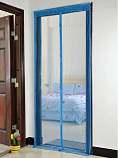 Magnetic Mesh Hands-free Screen Door Mosquito \u0026 Bug Net Curtain fits 39\ x82 & 2 Magnetic Screen Mesh Doors - - Amazon.com