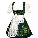 Dirndl Trachten Haus 3-Piece Short German Wear