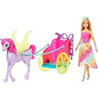 Boneca Barbie - Barbie Dreamtopia - Princesa com Carruagem, Multicor, Mattel