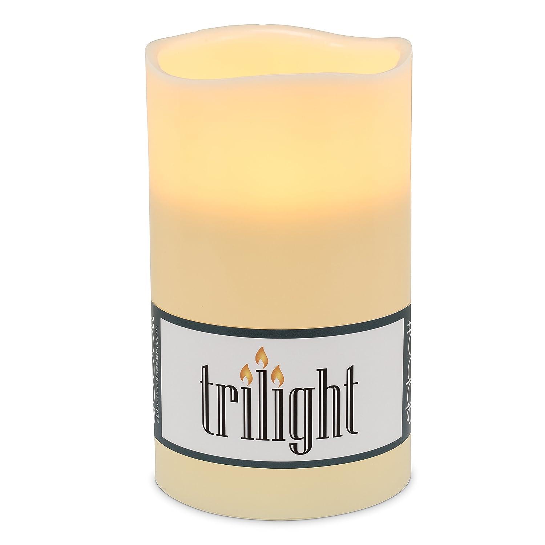 Abbott 27-TRILIGHT/LG Collection Triple Led Candle, Ivory (Large) NWICHI