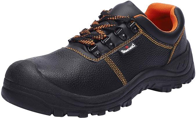 Zapatos de Seguridad para Hombre con Puntera de Acero, SH-0305 S3 SRC Zapatillas de Seguridad Trabajo Antideslizante Antiestático: Amazon.es: Zapatos y ...
