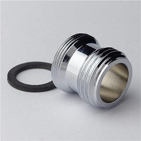 5Stk Wasserhahn Adapter Kein Rost M22 Außengewinde zu G1//2 Innengewinde Belüfter