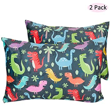 Envelope Style Pillowcase Breathable Bedding Pillow Cover Baby Shower Gift ICOSY Toddler Pillowcase Soft Kids Pillowslip Cover Fits Pillows sized 13 x 18 or 14 x 19