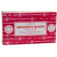 Satya Champa Dragon's Blood Incense Stick, 12 Count