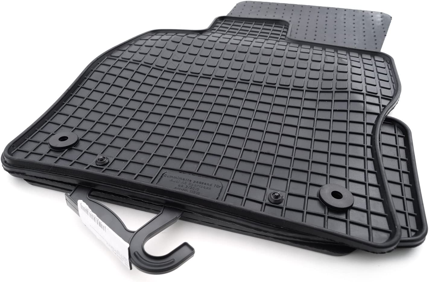 Kh Teile Gummimatten Passend Für A3 Qualität Gummi Fußmatten 4 Teilig Schwarz Auto