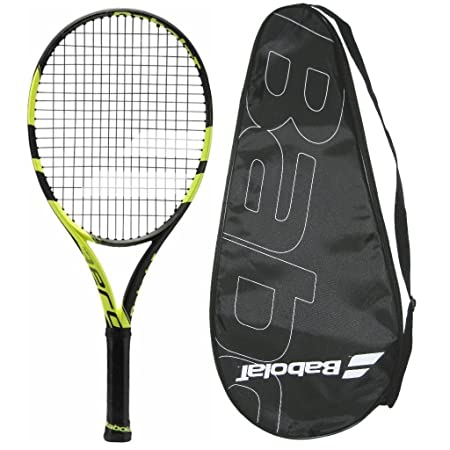 2018 Babolat Pure Aero Junior 25 – Strung with Cover 4-0 8