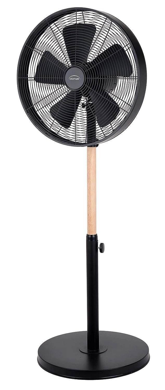 Ventilateur sur Pied 40 cm Bois Noir