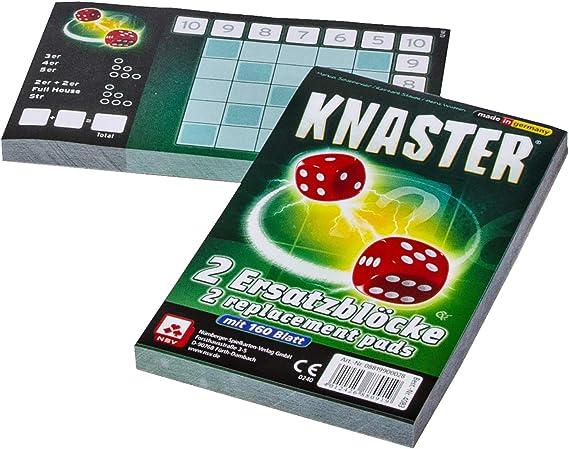 NSV - 4083 - Knaster - Bloques de substitución - Juego de Dados: Amazon.es: Juguetes y juegos