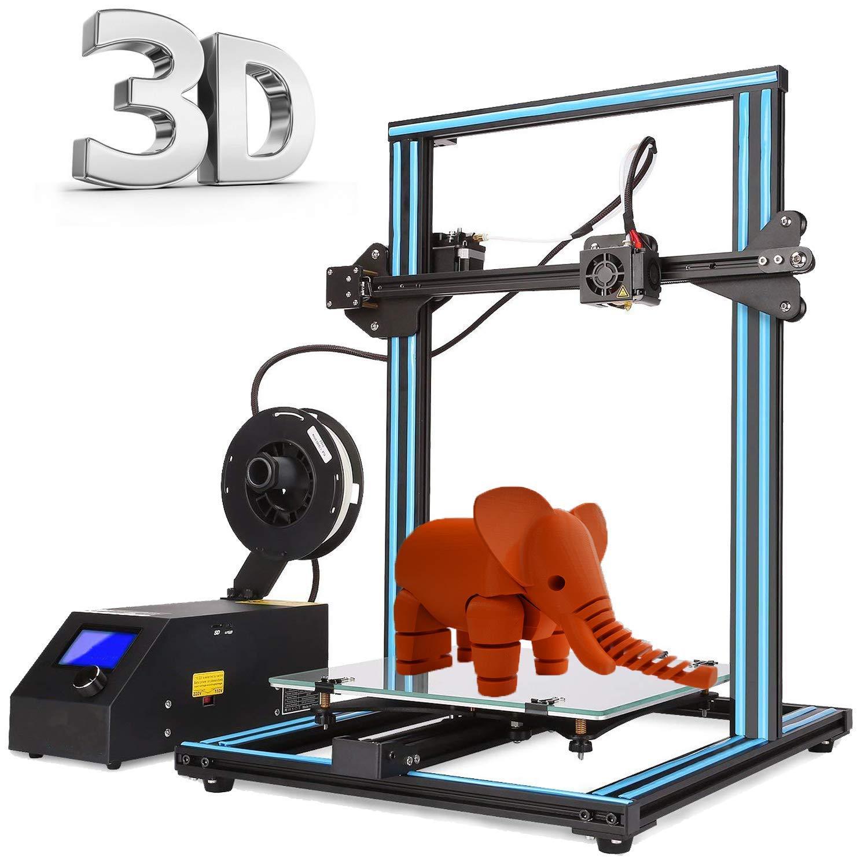 Abcs Printing 3D-Drucker mit Doppel-Extruder, Plug-and-Play-Desktop-3D-Drucker Montierter optimierter MK8-Doppelextruder - Hohe Präzision - ABS/PLA-Filament 3D printer … (3D Printer Doppelextruder) Perfectoffice