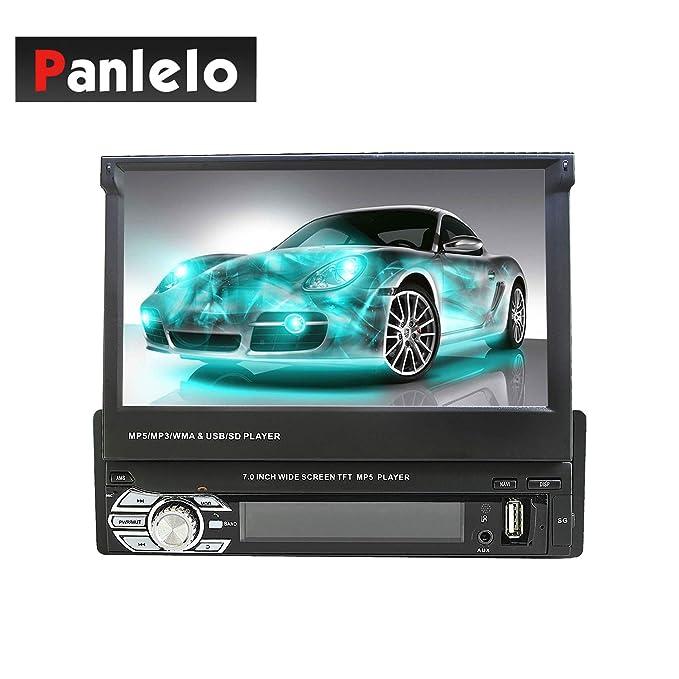 12 opinioni per Panlelo T2 7 pollici 1 DIN Android Car Stereo Receiver con navigazione GPS BT