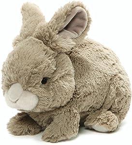 "GUND Easter Whispers Bunny Rabbit Plush Stuffed Animal 12"", Grey"