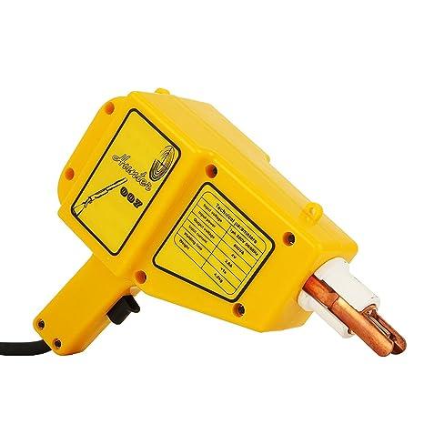 Autovictoria Máquina de soldadura por Puntos 400VDent Equipo de Reparación de Abolladuras de Coche Extractor Mecánico de Reparación (1600A)