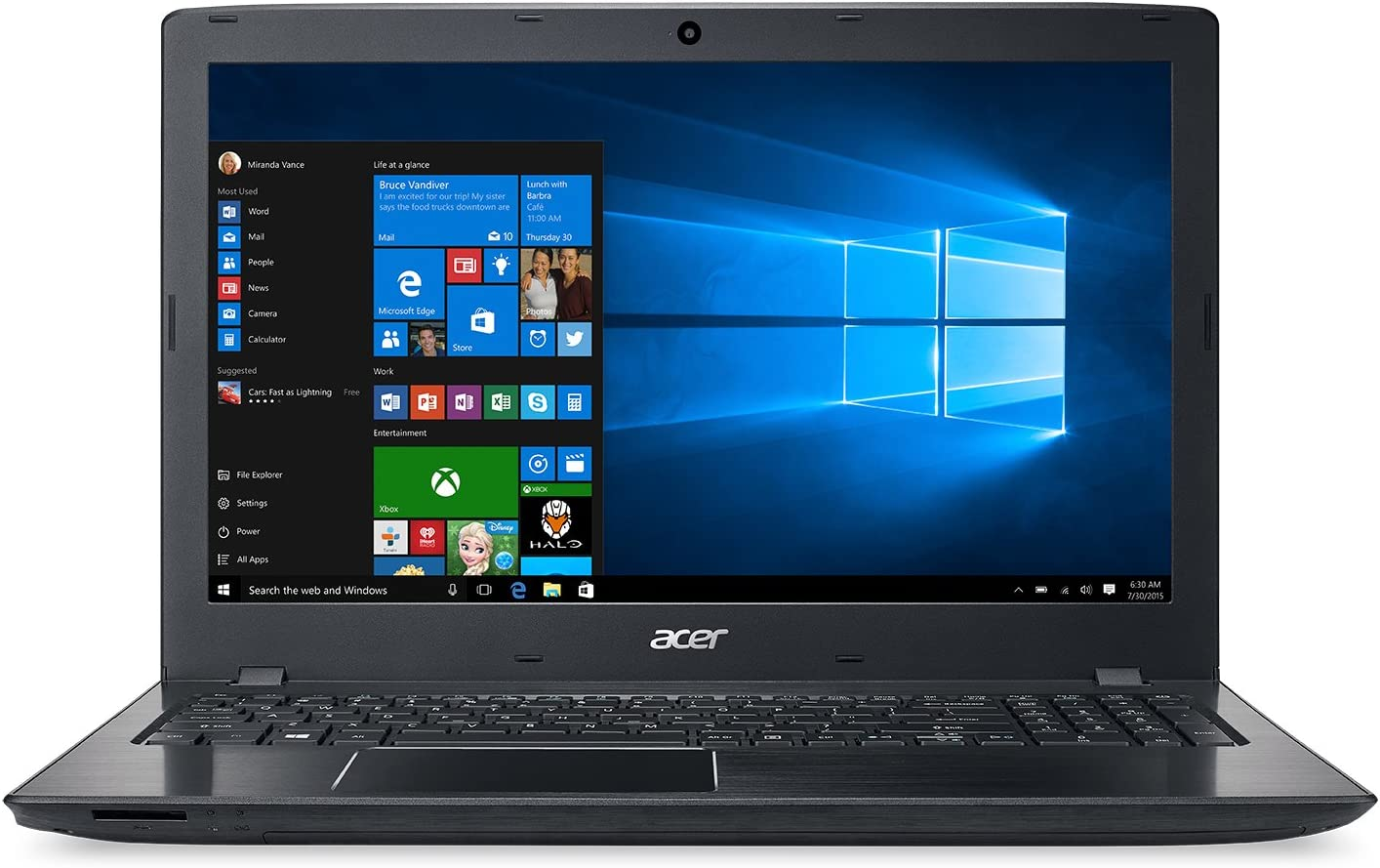 Acer Aspire E15 Laptop Upgrade Edition