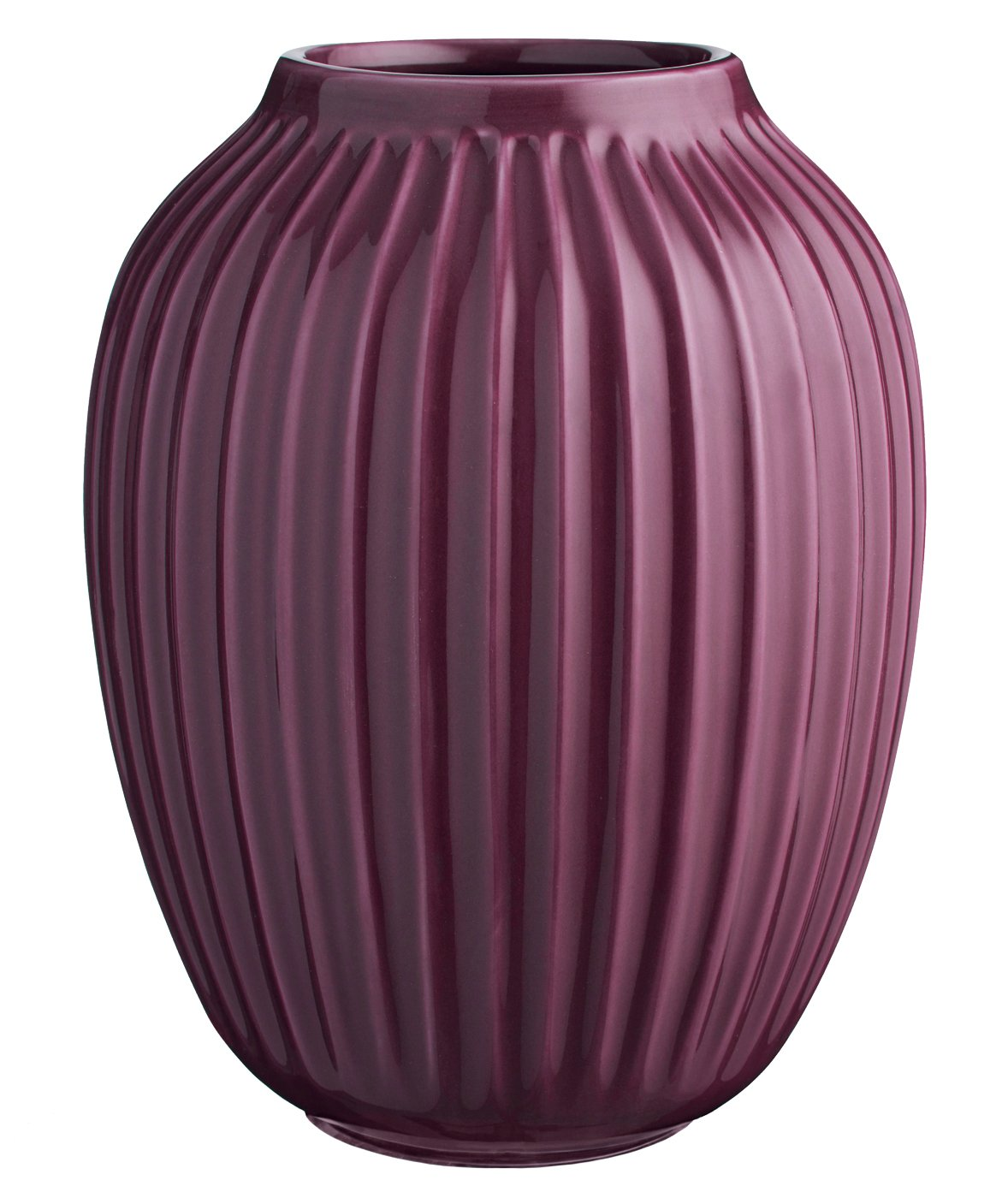 Kähler Hammershøi Vase H250 Plum