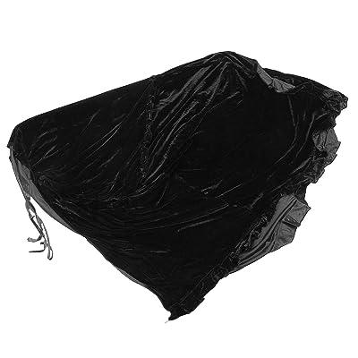 ACAMPTAR Completo Piano Cubierta Pleuche Decorado con Macrame por Universal Piano Vertical Erguido Negro: Juguetes y juegos