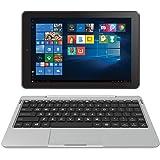 "RCA Cambio 10.1"" 2 in 1 32GB Tablet with Windows 10, Intel Atom Z8350 2GB RAM, IPS 1280 x 800 Includes Keyboard - (Silver)"