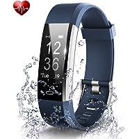 Fitness izleyici, aktivite takip, kalp atış hızı-Monitor, su geçirmez, Smart-Bileklik, kablosuz, Bluetooth, yedek-Bileklik, Android ve iOS akıllı telefonlar için