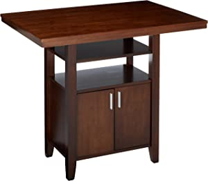 Winsome Albany High Dining Table, Walnut