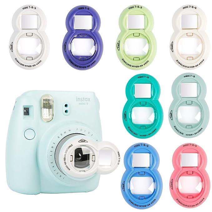 Annle Instax Primer Plano Espejo Selfie para Fujifilm Instax Mini KT/Mini 8/8 +/9/7s/Instant Film Camera: Amazon.es: Electrónica