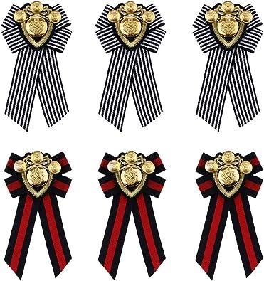 Baoblaze 6X Broche Épingle de Vêtement Rétro Pré Attaché