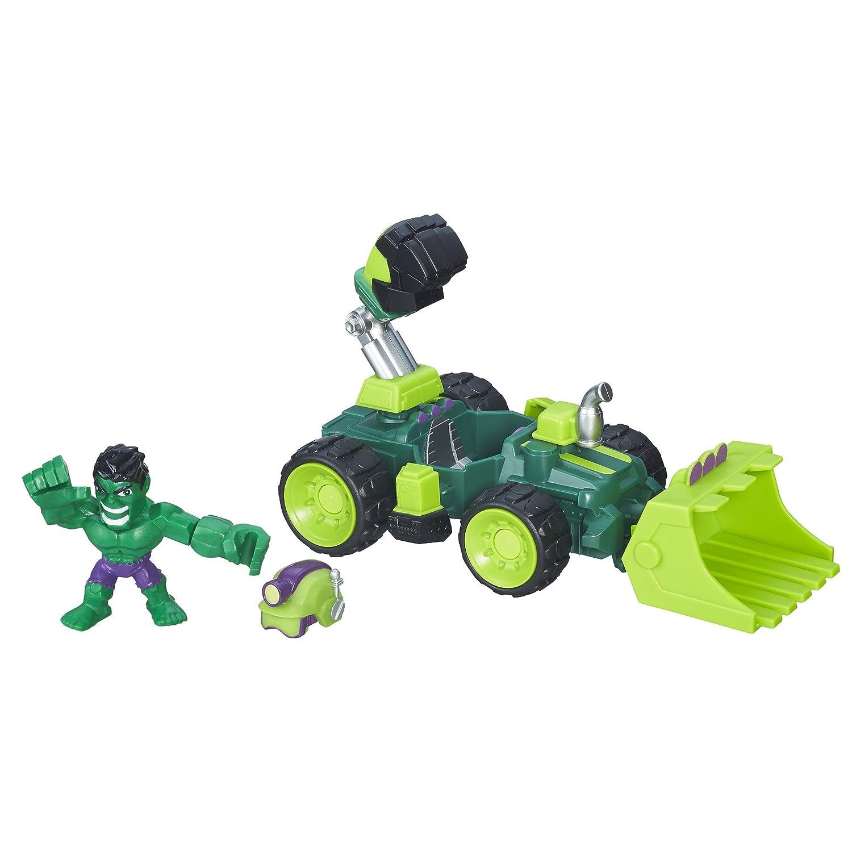 Marvel Super Hero Stampfern Micro Hulk Smash-Dozer