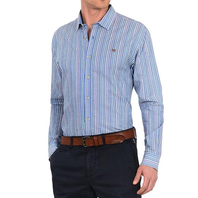 Napapijri Gardez, Camisa Manga Larga para Hombre