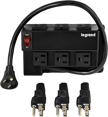 Legrand – OnQ MgtEnclosure Power Strip Module-Half Width AC1031